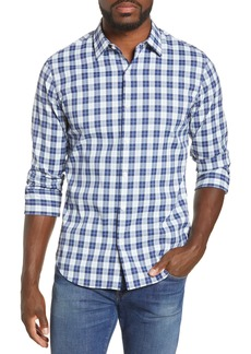 Bonobos Slim Fit Plaid Button-Up Tech Shirt