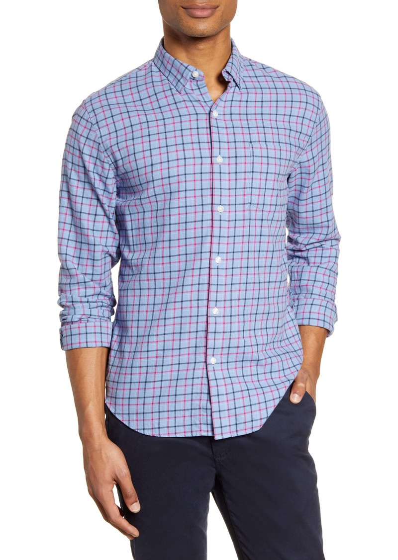 Bonobos Slim Fit Plaid Flannel Button-Up Shirt