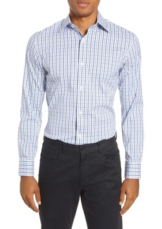 Bonobos Slim Fit Plaid Stretch Dress Shirt