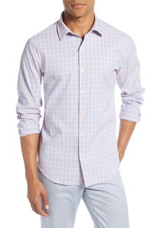 Bonobos Slim Fit Plaid Tech Sport Shirt