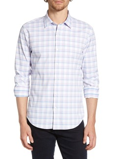 Bonobos Slim Fit Plaid Tech Shirt