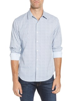 Bonobos Slim Fit Print Performance Sport Shirt