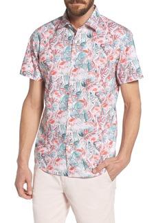 Bonobos Slim Fit Print Premium Sport Shirt