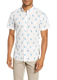 Bonobos Slim Fit Print Short Sleeve Button-Down Shirt