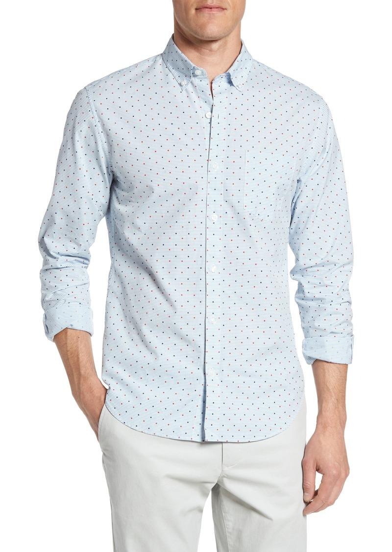 sale bonobos bonobos slim fit print washed sport shirt