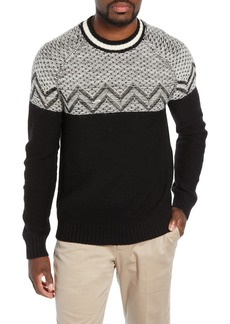 Bonobos Slim Fit Reverse Fair Isle Sweater