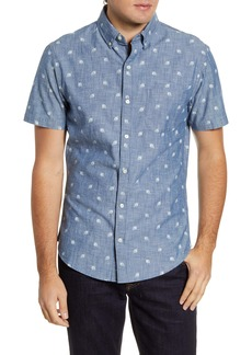 Bonobos Slim Fit Short Sleeve Button-Down Shirt