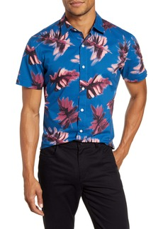 Bonobos Slim Fit Short Sleeve Button-Up Shirt