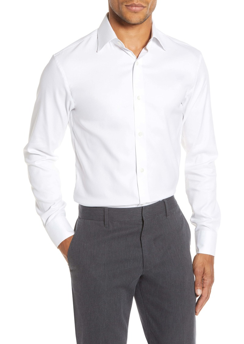 Bonobos Slim Fit Solid Twill Dress Shirt