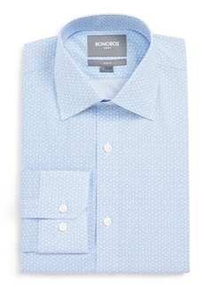 Bonobos Slim Fit Stretch Geometric Dress Shirt