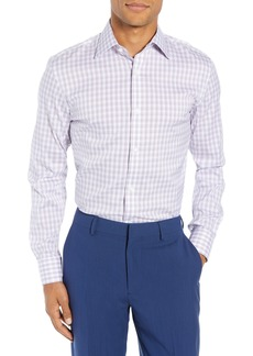 Bonobos Slim Fit Stretch Plaid Dress Shirt