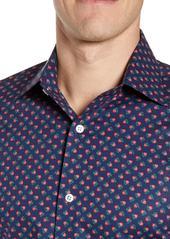 Bonobos Slim Fit Stretch Rosebud Print Dress Shirt