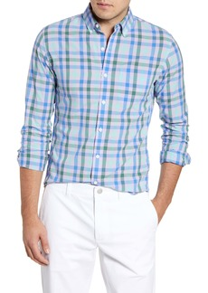 Bonobos Slim Fit Summerweight Plaid Button-Down Sport Shirt