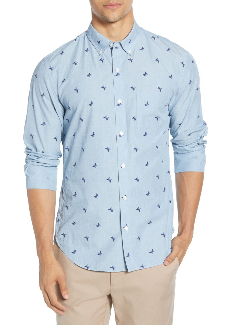 Bonobos Slim Fit Washed Button-Down Shirt