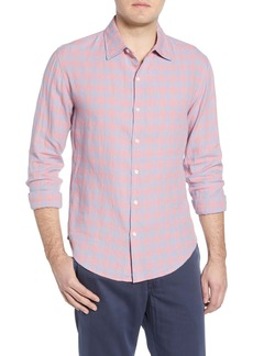 Bonobos Slim Fit Washed Linen & Cotton Sport Shirt