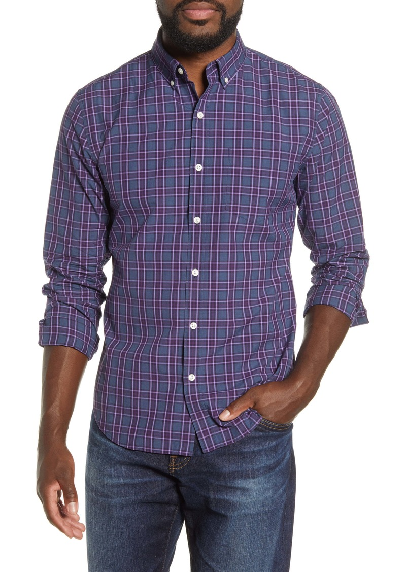 Bonobos Slim Fit Washed Plaid Button-Down Shirt