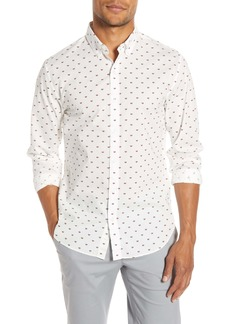 Bonobos Slim Fit Watermelon Print Button-Down Shirt