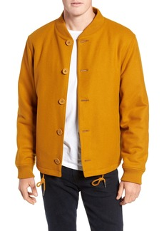 Bonobos Slim Fit Wool Blend Bomber Jacket
