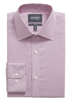 Bonobos Swiss Performance Stadon Slim Fit Dot Dress Shirt
