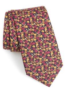 Bonobos Summer Isles Floral Cotton & Silk Tie