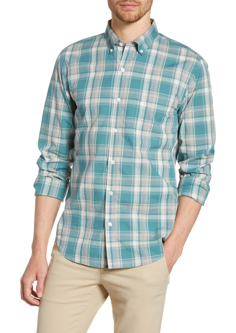 Bonobos Summer Weight Plaid Slim Fit Shirt