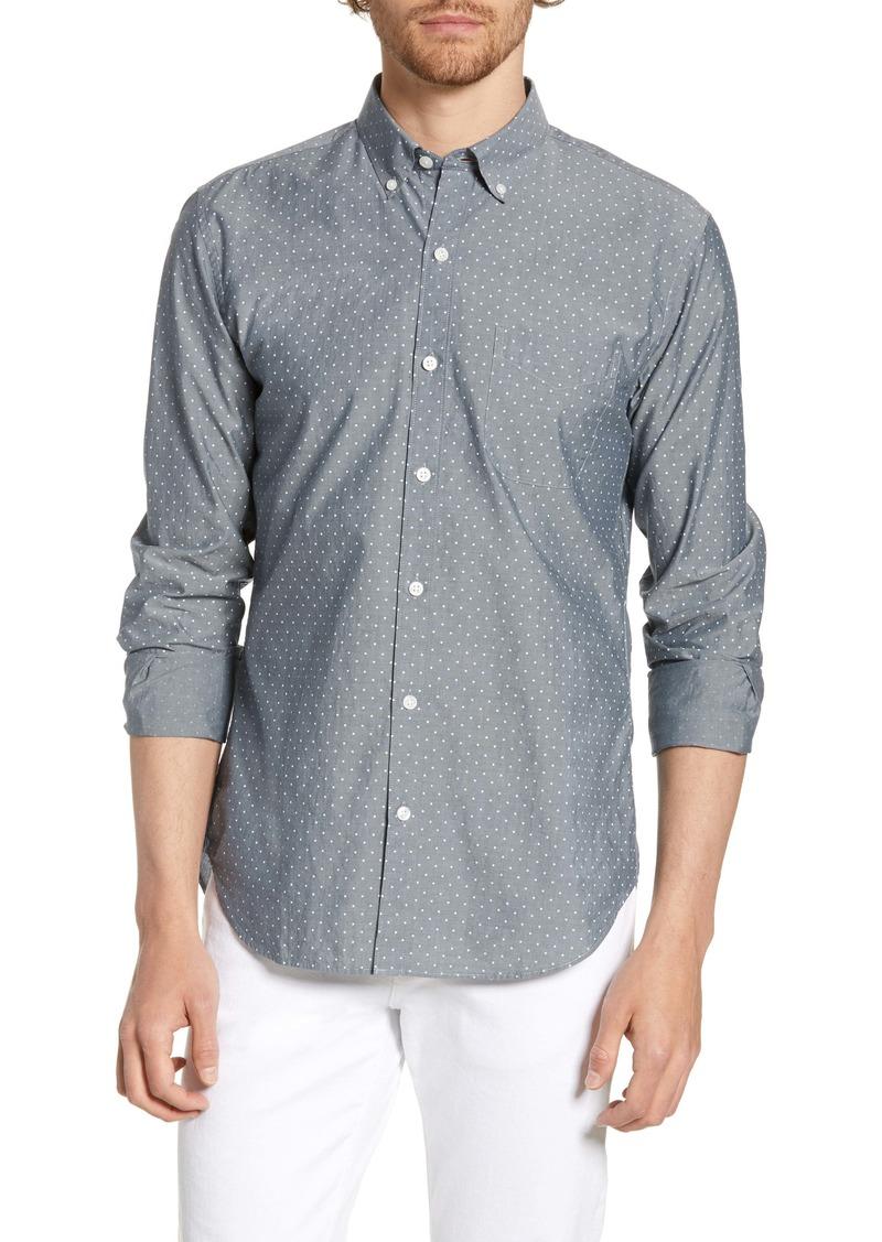 Bonobos Summerweight Slim Fit Dot Shirt