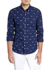 Bonobos Summerweight Slim Fit Fish Print Button-Down Shirt