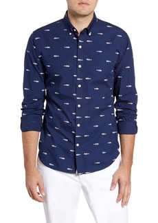 Bonobos Summerweight Slim Fit Fish Print Button-Down Shirt