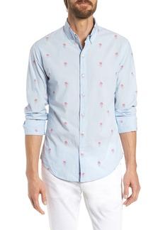 Bonobos Summerweight Slim Fit Jellyfish Print Sport Shirt