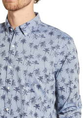 Bonobos Summerweight Slim Fit Palm Shirt