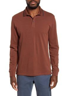 Bonobos Superfine Long Sleeve Piqué Polo