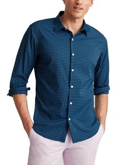 Bonobos Tech Slim Fit Check Stretch Button-Up Shirt