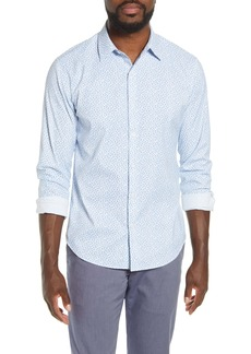 Bonobos Tech Slim Fit Floral Button-Up Shirt