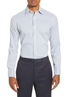 Bonobos Slim Fit Check Stretch Performance Dress Shirt