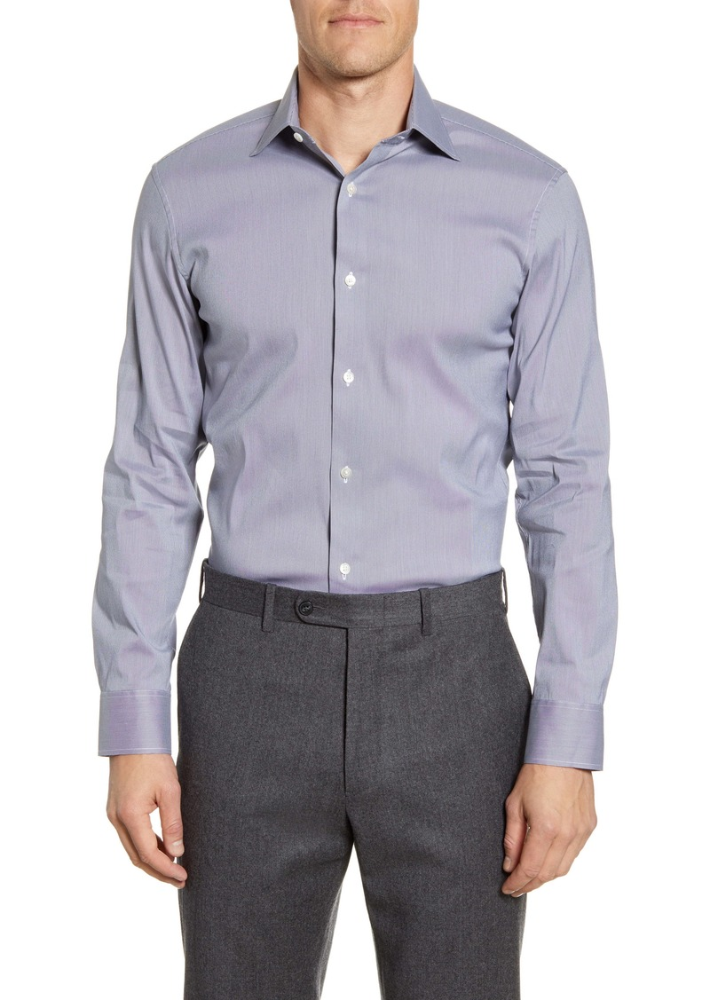 Bonobos Trim Fit Houndstooth Dress Shirt