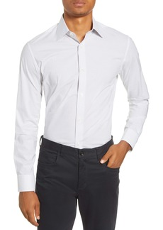Bonobos Slim Fit Stretch Fine Dot Dress Shirt