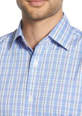 Bonobos Tripui Slim Fit Stretch Plaid Dress Shirt