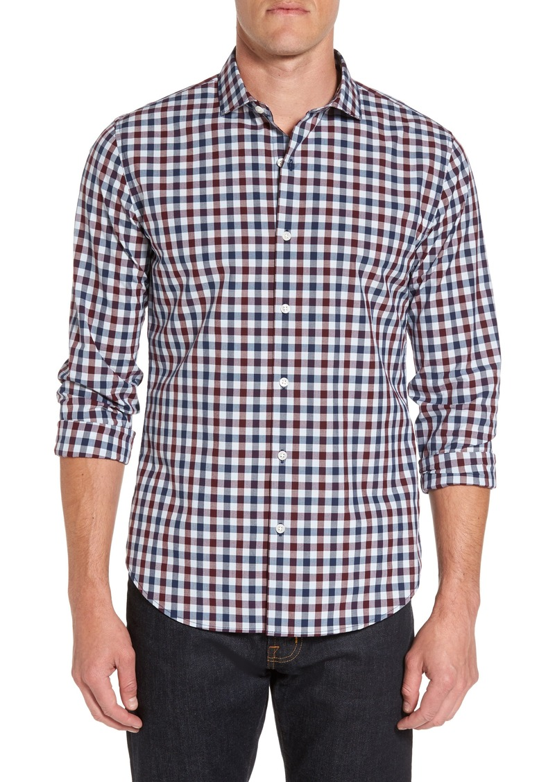 46837e3a69 Bonobos Bonobos Unbutton Down Slim Fit Check Sport Shirt