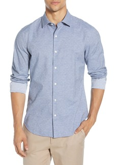 Bonobos Unbutton-Down Slim Fit Dobby Button-Up Shirt