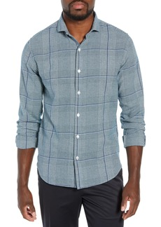 Bonobos Unbutton Down Slim Fit Glen Plaid Sport Shirt