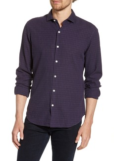Bonobos Unbutton Down Slim Fit Linen & Cotton Shirt