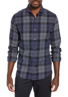 Bonobos Unbutton Down Slim Fit Plaid Sport Shirt