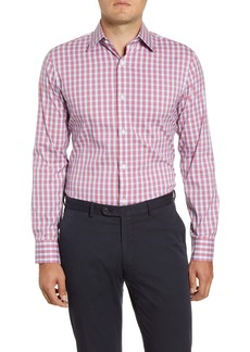 Bonobos Warrington Trim Fit Plaid Dress Shirt
