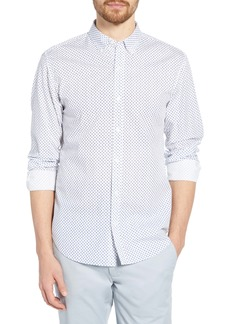 Bonobos Washed Button Down Slim Fit Print Shirt