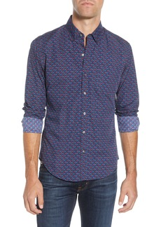 Bonobos Washed Slim Fit Button-Down Sport Shirt