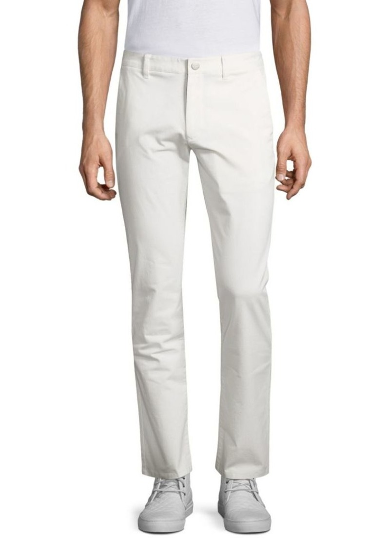 Bonobos White Stretch Washed Chinos