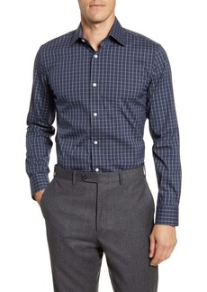 Bonobos Wilde Trim Fit Plaid Dress Shirt