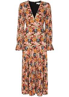 Borgo de Nor floral print V-neck dress