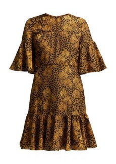 Borgo De Nor Alba floral-print crepe dress