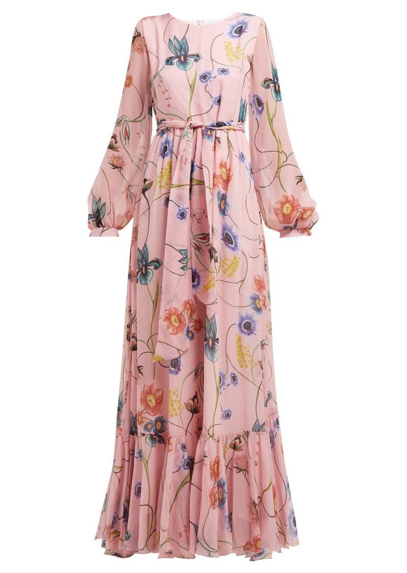 a26663e99 Borgo de Nor Borgo De Nor Dianora floral-print silk-georgette maxi ...